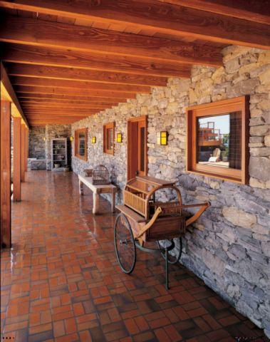 玄关吊顶地中海风格装潢设计图片