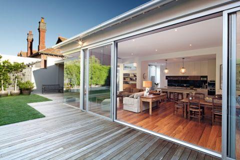 阳台地板砖现代风格装潢效果图