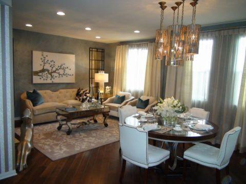 客厅窗帘现代风格效果图