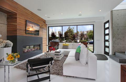 现代风格别墅290平米装修图片