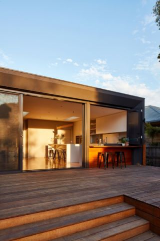 阳台地板砖现代风格效果图