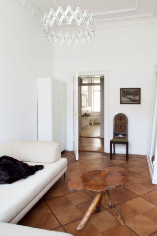 客厅地板砖混搭风格装饰设计图片
