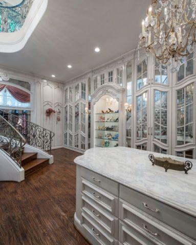 玄关地板砖美式风格装饰效果图