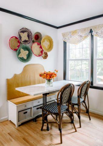 餐厅餐桌混搭风格装潢图片