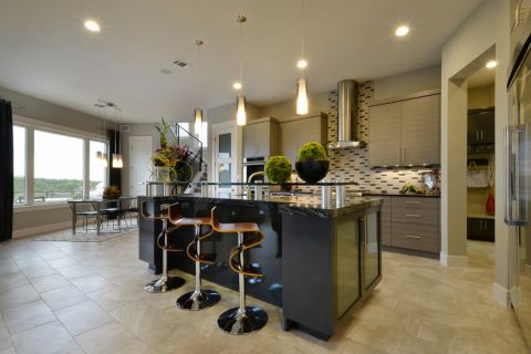 厨房地砖现代风格装修效果图