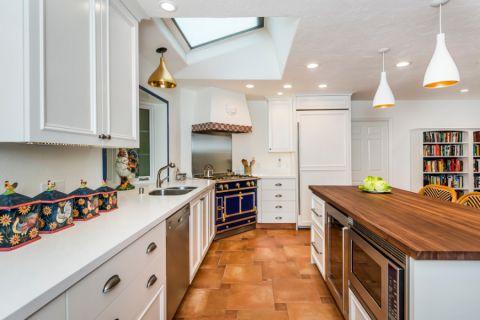 厨房厨房岛台地中海风格装潢图片