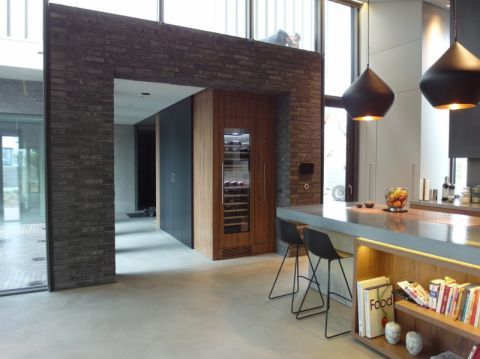 厨房地板砖现代风格装饰图片