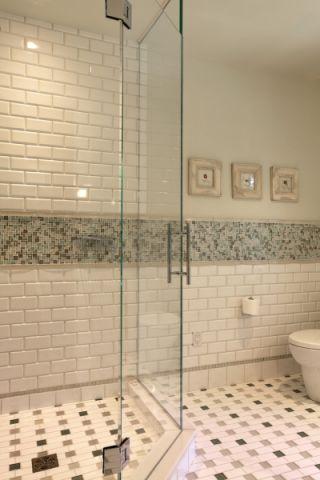 浴室地砖现代风格装修效果图