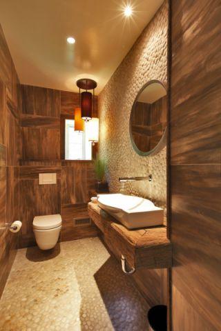 卫生间吊顶现代风格装饰效果图