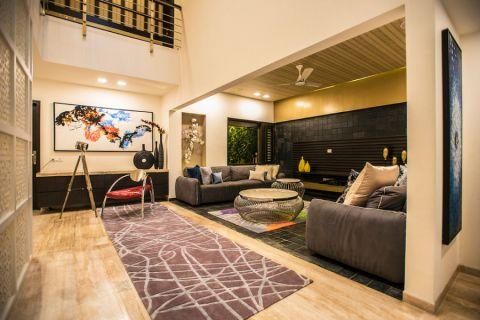客厅沙发现代风格装饰设计图片