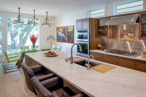 厨房厨房岛台现代风格装修效果图