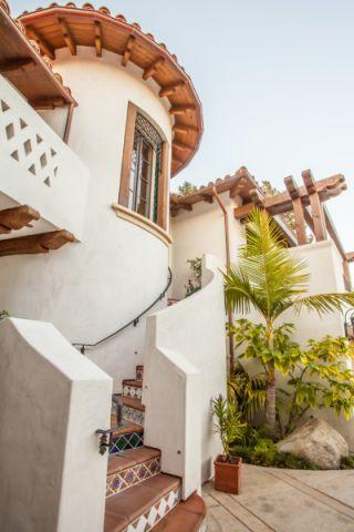 外景外墙地中海风格装修效果图
