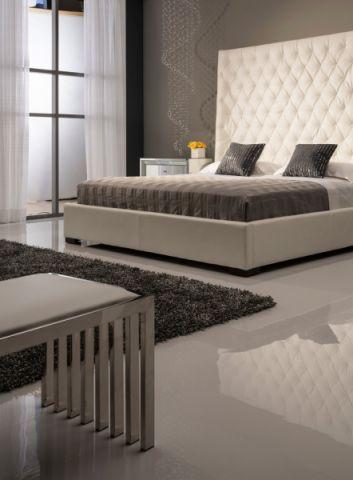 卧室地砖现代风格装饰图片