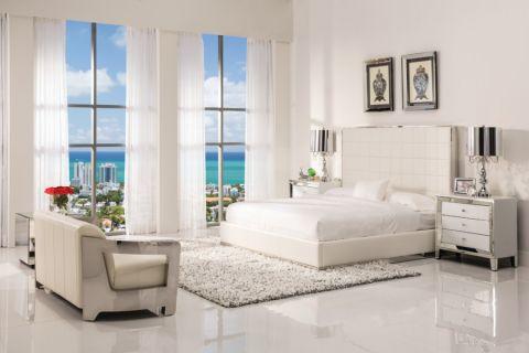 100平米公寓现代风格装修图片