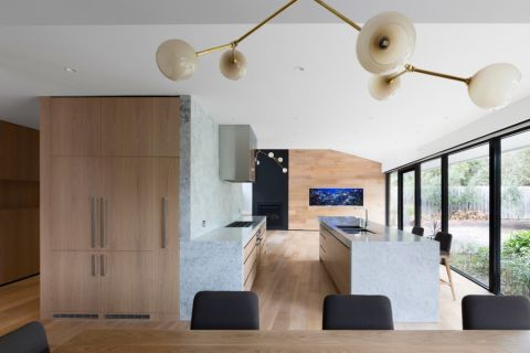 300平米楼房现代风格装修图片