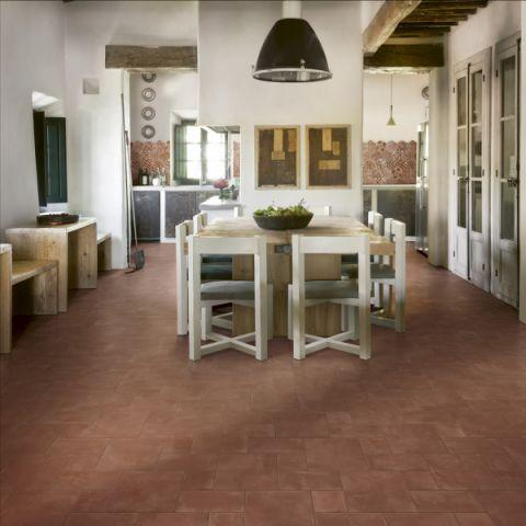 厨房餐桌地中海风格装潢效果图