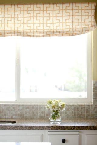 厨房窗帘混搭风格效果图