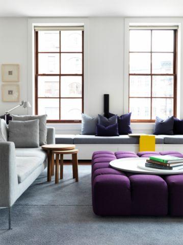 75平米公寓现代装饰设计图片_土拨鼠装修效果图