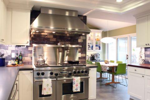 厨房橱柜混搭风格效果图