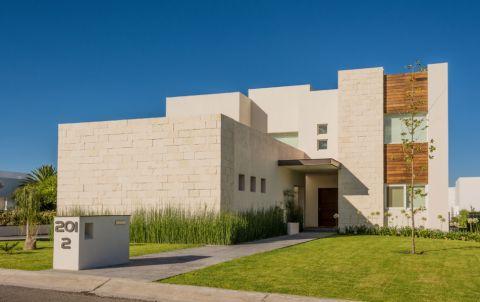 外景外墙现代风格装潢效果图