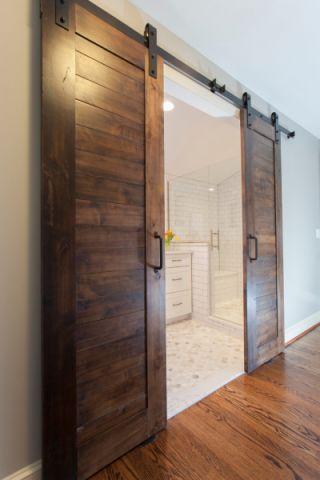 浴室推拉门混搭风格装潢设计图片