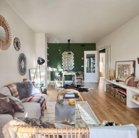 116平米公寓混搭风格装饰实景图片