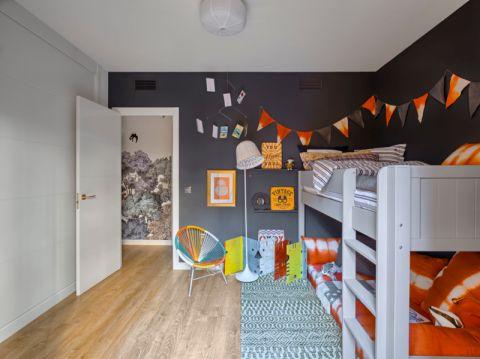 儿童房地板砖混搭风格装饰设计图片