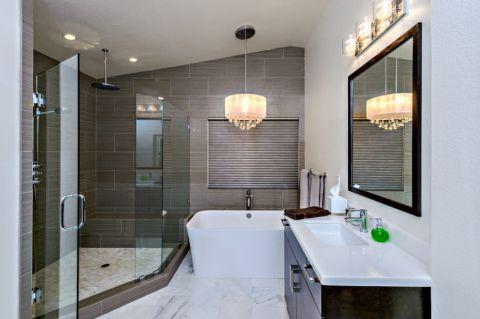 浴室吊顶地中海风格装饰设计图片