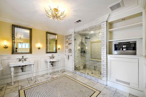 浴室吊顶地中海风格装潢效果图