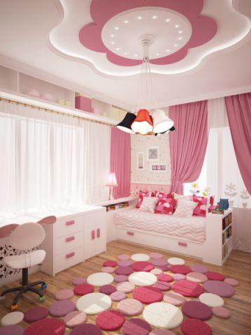 76平米二居室现代风格装修案例