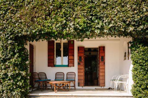 玄关地砖地中海风格装饰效果图