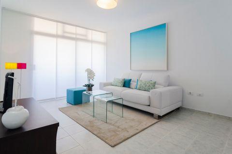 106平米公寓地中海风格装修图片