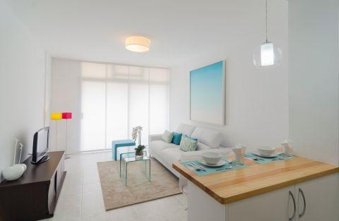 客厅吊顶地中海风格装饰图片