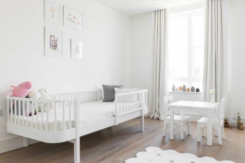 儿童房窗帘现代风格装潢效果图