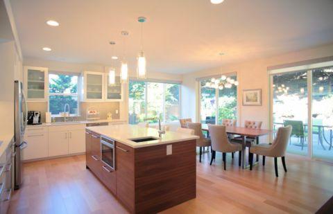 厨房吊顶现代风格装修效果图
