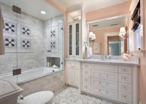 浴室浴缸地中海风格装饰图片