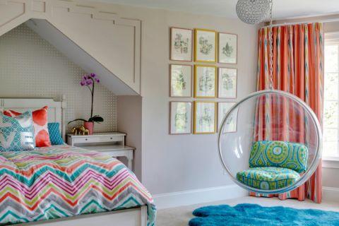 卧室照片墙混搭风格装饰效果图