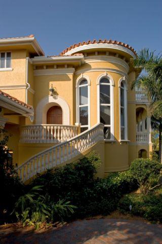 外景外墙地中海风格装修设计图片