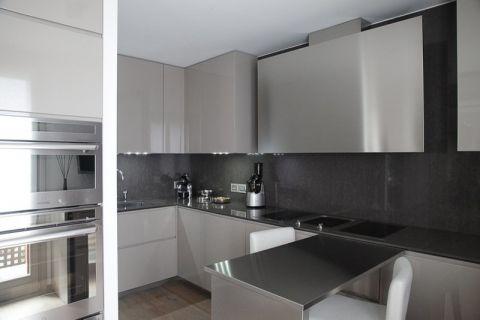 90平米公寓现代装修图片_土拨鼠装修效果图