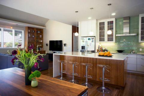 厨房吊顶现代风格装潢设计图片