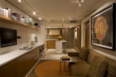 81平米公寓现代装修图片_土拨鼠装修效果图