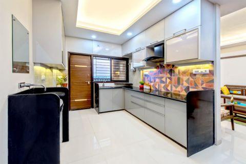 厨房混搭风格效果图