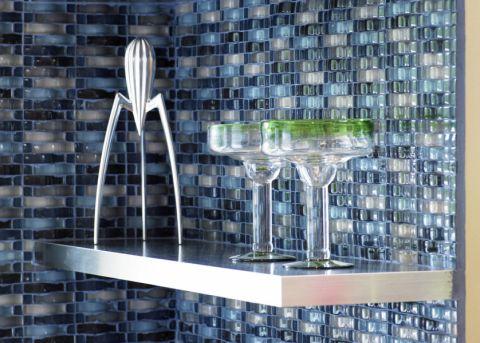 厨房背景墙现代风格装修效果图