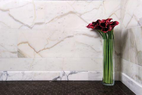 浴室地砖混搭风格装修设计图片