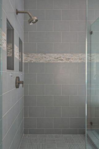 浴室背景墙现代风格装饰效果图