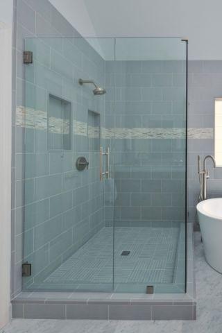 浴室地砖现代风格装修图片