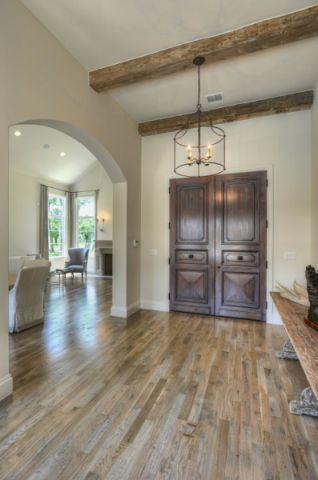 玄关地板砖美式风格装饰图片