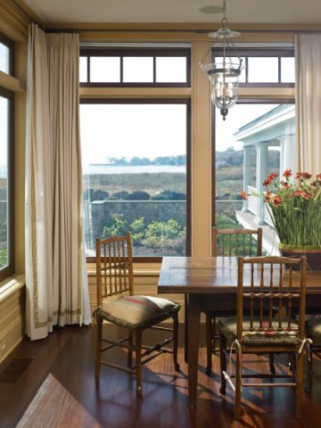 餐厅窗帘美式风格装饰效果图