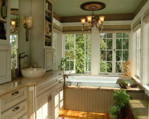 浴室吊顶混搭风格装修图片
