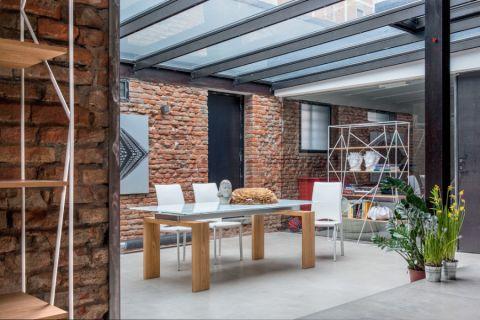 餐厅地砖现代风格装饰设计图片